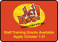 Staff training grants available - apply October 1-31