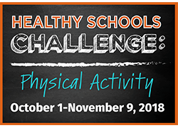 Healthy Schools Challenge: Physical Activity logo